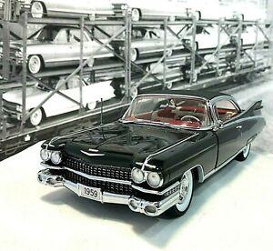 Danbury Mint 1959 Cadillac Eldorado Seville Black - RARE LE #827 Complete