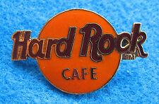 New listing Staff International Orange Logo 3Lc Grid Tac Back No Location Hard Rock Cafe Pin