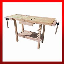Last One - Wooden Workbench Desk / Garage Workshop Craft Hobby Joiner Carpentry