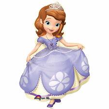 "Disney Sofia the First Birthday Party SuperShape Jumbo Foil Balloon 35"""