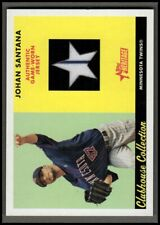 2007 Topps Heritage Clubhouse Collection Relics #JSA Johan Santana Jersey NM-MT