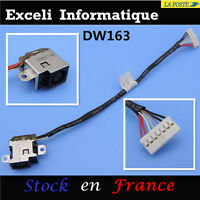 Hp pavilion DV6-6B51NR dc en conector jack puerto enchufe con cable conector