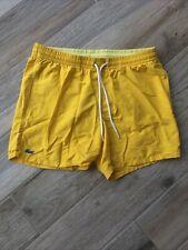 Mens Lacoste Swim Shorts Size Medium Great Condition