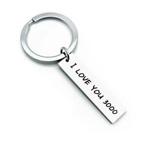 I Love You 3000 Keyring