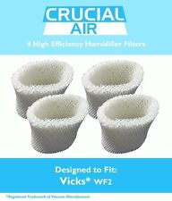 4 Replacements Vicks V3500N V3100 V3900 Humidifier Filters Part # WF2