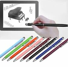 1pcs 2 In1 Touch Screen Stylus Ballpoint Pen for iPad iPhone Samsung Tablet GB