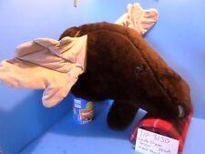 Lady Slipper Design Moose Head plush (310-3150)