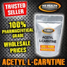 PURE ACETYL L-CARNITINE POWDER ALCAR 100g   Premium Quality L CARNITINE