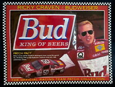 RICKY CRAVEN Willabee Ward BUD King of Beers BUDWEISER NASCAR RACING TEAM PATCH