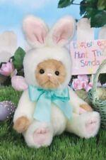 10* Beary Harey*Bearington Bear*New*Nwt*Beige Bear in Bunny Outfit*Easter420295