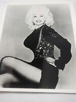 "Dolly Parton Press Publicity Photograph B&W 8 x 10"""