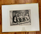 "Saul Rabino WPA Era, pencil signed Litho ""Opera Choirgirl"""