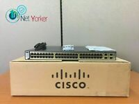 Cisco WS-C3750G-48TS-S • 48-Port 3750G Gigabit Ethernet Switch ■1 YEAR WARRANTY■