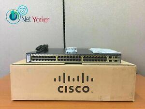 Cisco WS-C3750G-48TS-S • 48 Port Gigabit Switch ■1YR WARRANTY • SAMEDAYSHIPPING■