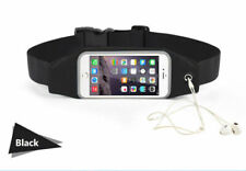 Universal Black Jogging Running Phone Belt Bag For Mobile Phone Upto 5.5 inches