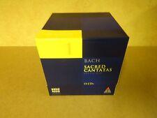 15-CD BOX BACH 2000 TELDEC DAS ALTE WERK VOLUME 1 / BACH - SACRED CANTATAS