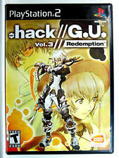 .Hack G.U. Vol. 3 Redemption (PS2) Complete - Clean,Tested & Fast Shipping