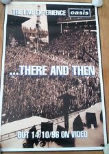 OASIS There & Then - Unused  Shop Display POSTER 30x20 inches