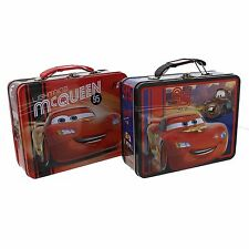 Children's Cars Tin Lunch Box