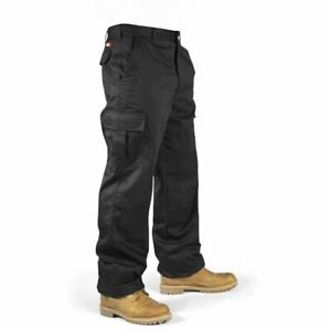 Lee Cooper Workwear Mens Heavy Duty Cargo Combat Work Trousers. W42