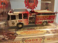 Code 3 Classics MACK N.Y.F.D. CF FIRE ENGINE 31- 1:64 Scale #12355 MIB