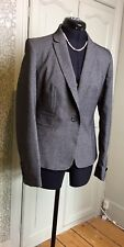 Next Grey Tailored Jacket for Smart Office Work Outfit  UK 8 EU 36 BNWT
