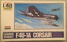 Arii Model 1:48 Chance Vought F4U-1A Corsair Plastic Model Kit #A336