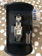 Breil Donna bracciale acciaio, con scatola originale e maglie ricambio cinturino