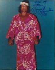 "Jimmy ""Superfly"" Snuka Signed WWE 8x10 Photo #1"