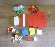 Vintage American Bricks Plastic Building Blocks