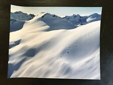 H. Peter Wingle Vintage Ski Photo Signed Canada Vail 5015