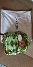 Givenchy IP Back Pack $1425 Indian Print Art Leather Canvas NWT