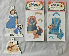 Anna's Adventure Paper Doll Outfits & Anna & Purrlie The Cat Lot