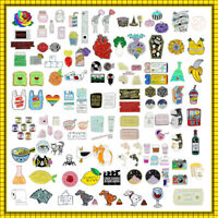 141type Cute Cartoon Enamel Lapel Collar Pin Corsage Brooch Fashion Jewelry Gift