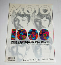 THE BEATLES MOJO 1000 DAYS THAT SHOOK THE WORLD 2002 DIE CUT COVER NEARMINT