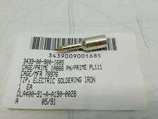 Electric Soldering Iron Tip 14 Thread On Plated Pencil Tip Pl1111 Pn 78976