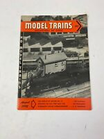 HO Model Trains Magazine August 1952