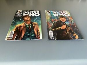 Doctor Who The Tenth Doctor Titan Comics #1 & #2 (2014)