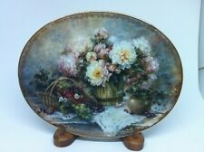 "Lena Lui's ""Garden Pleasures"" Decorative Plate ""Country Accents"" Collection"