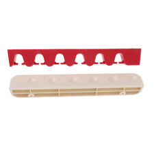 Plastic Snooker/Pool Cue Rack Wall Mounted Hanging 6 Cue Sticks Holder Stand