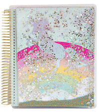 Recollections Spiral Unicorn Shaker 18 Month Planner, 8 Pc. Washi Tape Combo