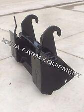 JCB 210,212,214,3CX,4CX Tractor Loader Backhoe Skid Steer Quick Attach Adapter