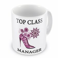 Top Class MANAGER Coffee / Tea Mug - Shoe Design