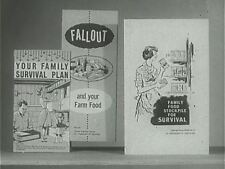 Atomic Bomb Fallout Biological Chemical Attack Civil Defense 14 Films 2 DVDs