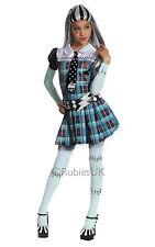 Fancy Dress ~ Niñas Monster High Frankie Stein Costume Small Age 3-4