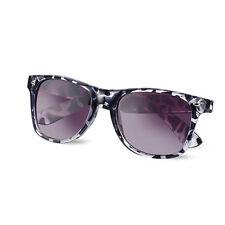 Wayfare Style Sunglasses Tortoiseshell Animal Print Spectacles Uv400 Glasses Black
