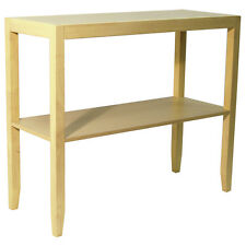 ANYWHERE - Solid Wood Console Table with Storage Shelf - Natural OC1081
