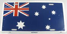 Australia Flag Metal License Plate Australian Sign L167