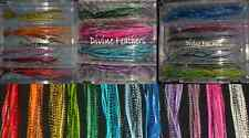 Grizzly Saddle Feather Extension U CHOOSE colors Divne Feathers Hair extensions