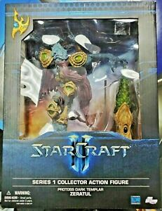 DC Unlimited Starcraft Premium Series 1 Collectible Figure: Dark Templar Zeratul